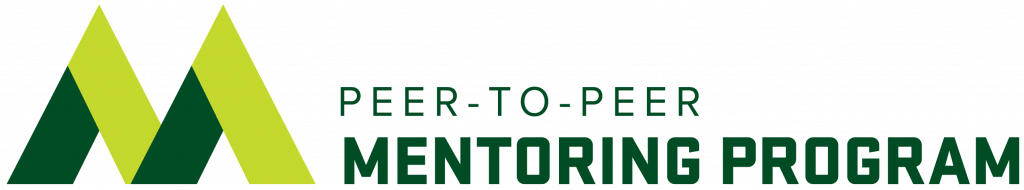 Peer-to-Peer Mentoring Logo Header