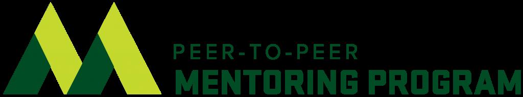 Peer-to-Peer Mentoring Logo Header